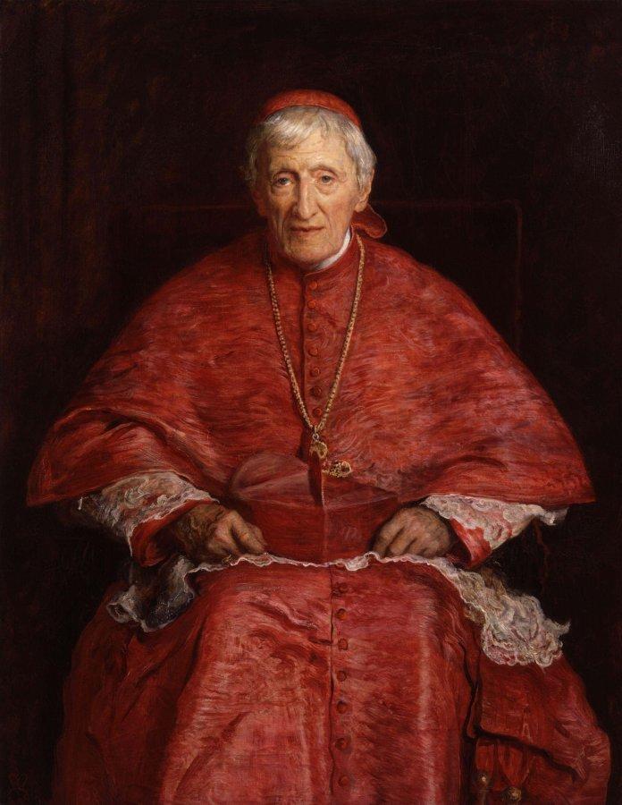 John Henry Kardinal Newman – Bild: John Everett Millais [Public domain]