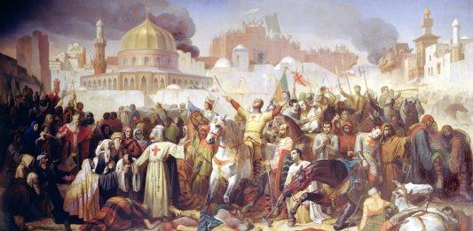 Bild: Einnahme Jerusalems durch die Kreuzfahrer am 15. Juli 1099 | Giraudon / The Bridgeman Art LibraryÉmile Signol [Public domain] (https://commons.wikimedia.org/wiki/File:Counquest_of_Jeusalem_(1099).jpg)