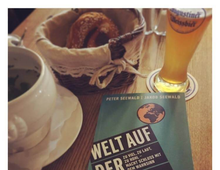 Der Cathwalk traf Jakob John Seewald zum traditionellen bayrischen Weißwurstfrühstück.