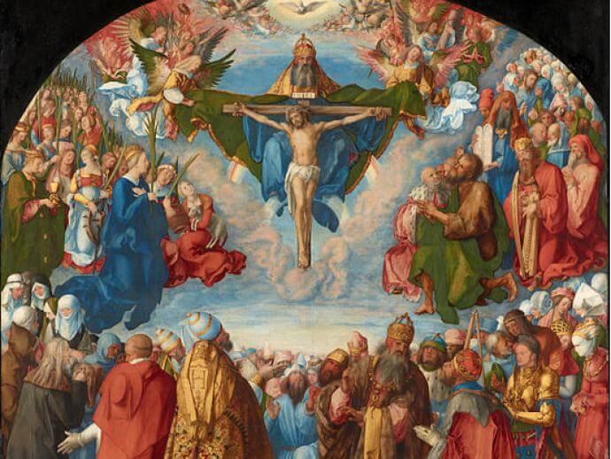Albrecht Dürer, Allerheiligen-Altarbild ohne Rahmen, 1511