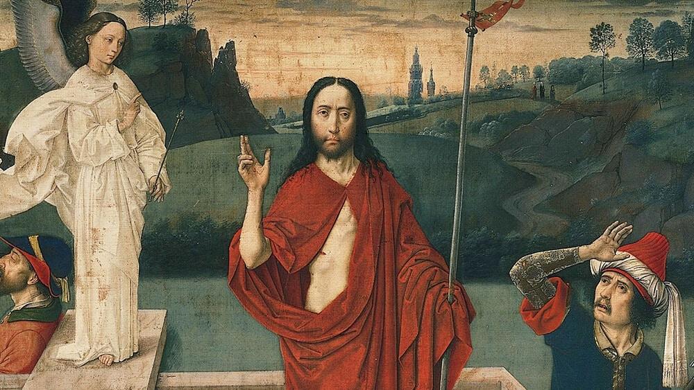 Bild: Auferstehung (Dieric Bouts, um 1455) / public domain