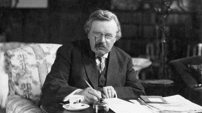 G. K. Chesterton - Bild: Crisis Magazine: http://www.crisismagazine.com/2012/new-study-marred-by-old-cliches-about-preconciliar-catholic-writers