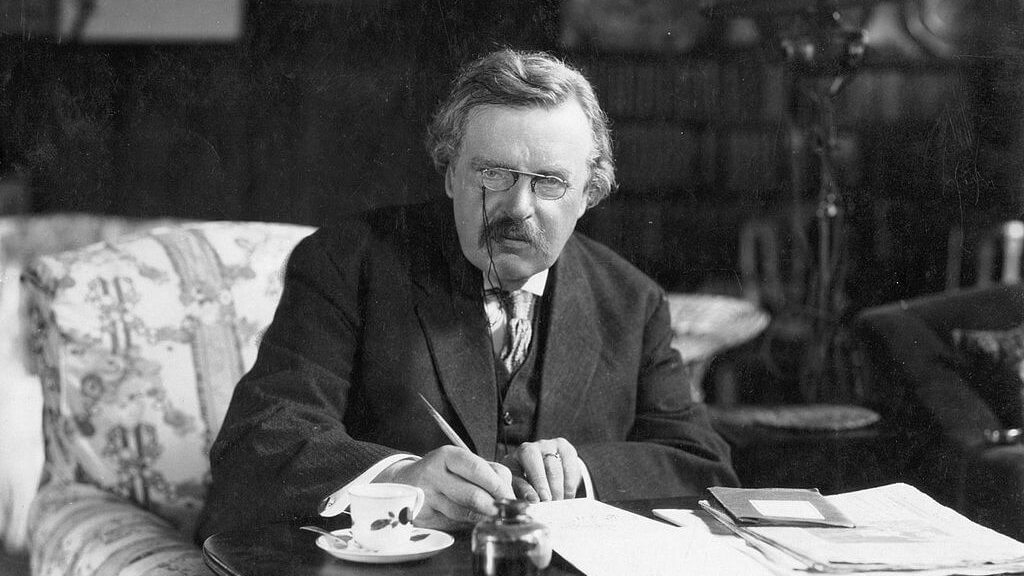 G. K. Chesterton - Bild: Crisis Magazine: http://www.crisismagazine.com/2012/new-study-marred-by-old-cliches-about-preconciliar-catholic-writers