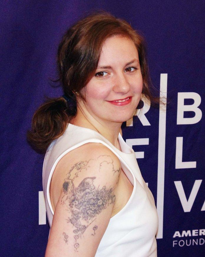 Lena Dunham. Hauptdarstellerin der Serie