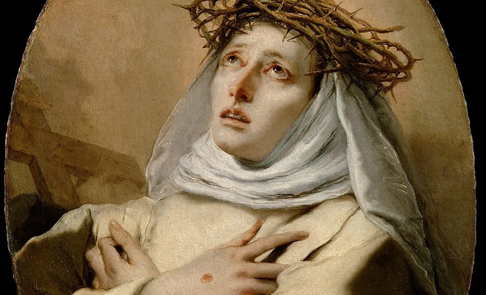 Katharina von Siena - Giovanni Battista Tiepolo [Public domain]