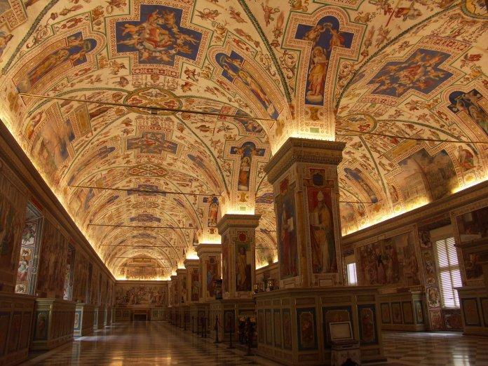 Vatikanische Museen – Großer Saal der Bibliothek, Salone Sistino