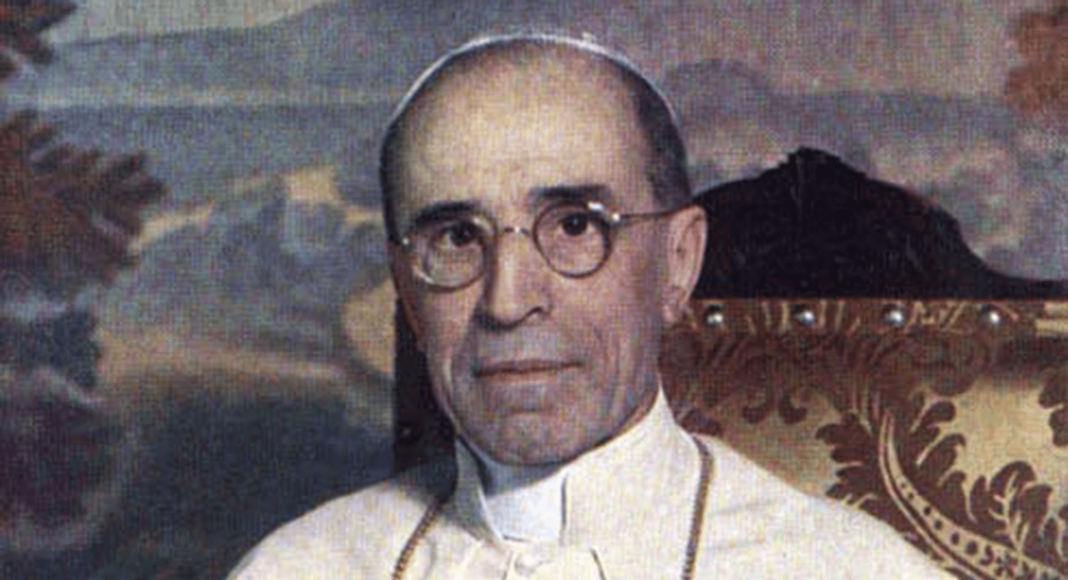 Pius XII. – Bild: Gemeinfrei, https://commons.wikimedia.org/w/index.php?curid=24816248