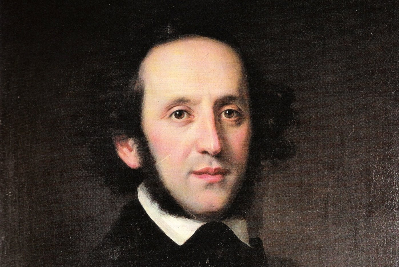 Felix Mendelssohn Bartholdy, Gemälde von Eduard Magnus, 1846 (public domain)