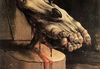 Gemälde von Matthias Grünewald, 16. Jahrhundert