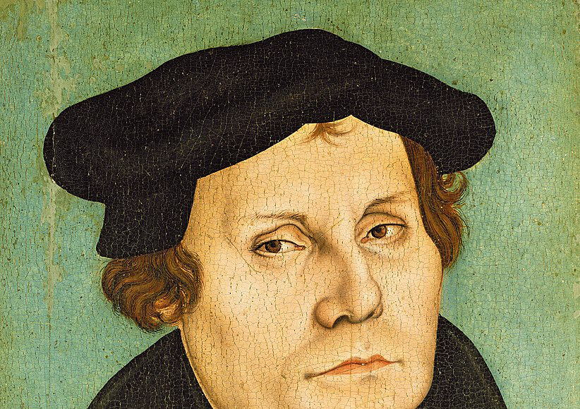 Martin Luther – Bild: Workshop of Lucas Cranach the Elder [Public domain]