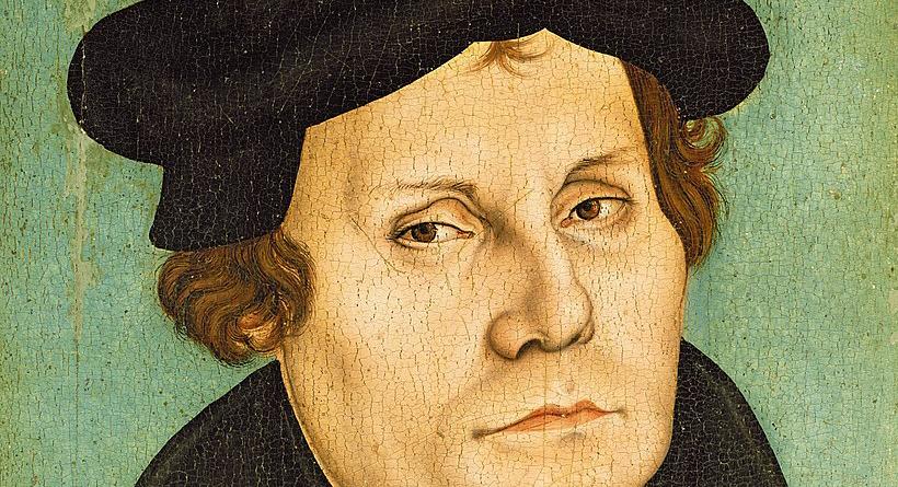 Martin Luther – Bild: Workshop of Lucas Cranach the Elder [Public domain]