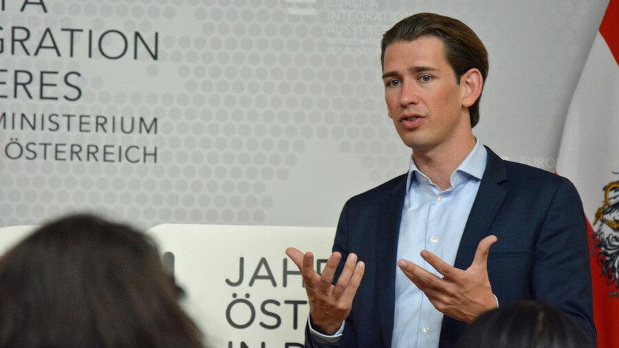 """Sebastian Kurz ist Hoffnungsträger der Österreichischen Konservativen. 2016 sprach er in Wien beim """"Jesus-Marsch"""". (Archivbild) Foto: Raffael Reithofer"""