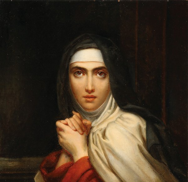 Theresa von Avila – Bild: François Gérard im Jahr 1827.