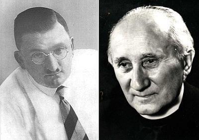 Fritz Gerlich (l.) und Romano Guardini © Archiv des Erzbistums © Katholische Akademie in Bayern