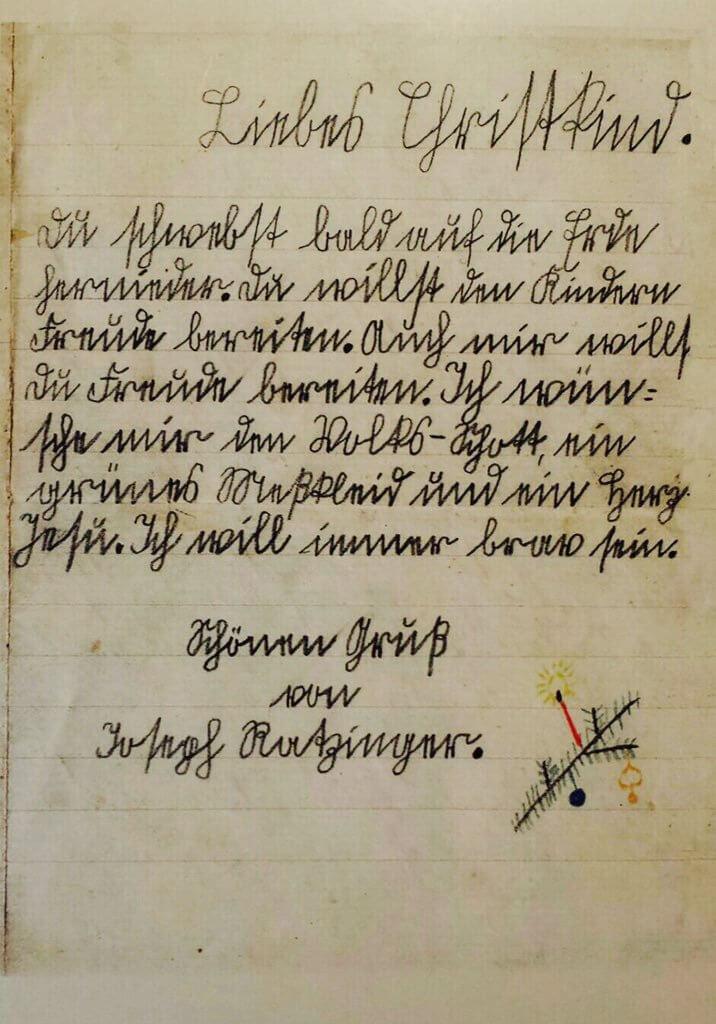 Ein Bayrischer Brief Ans Christkind Cathwalk