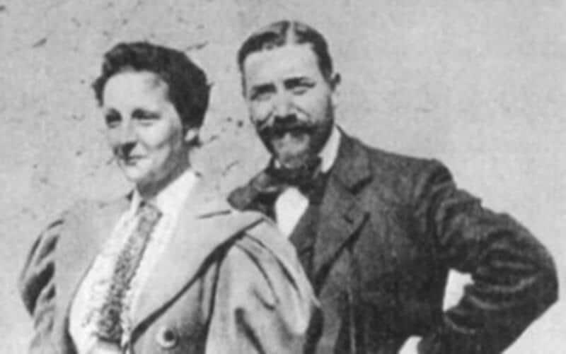 Élisabeth und Félix Leseur um 1910   Bildquelle: http://www.janinetissot.fdaf.org/jt_leseur.htm