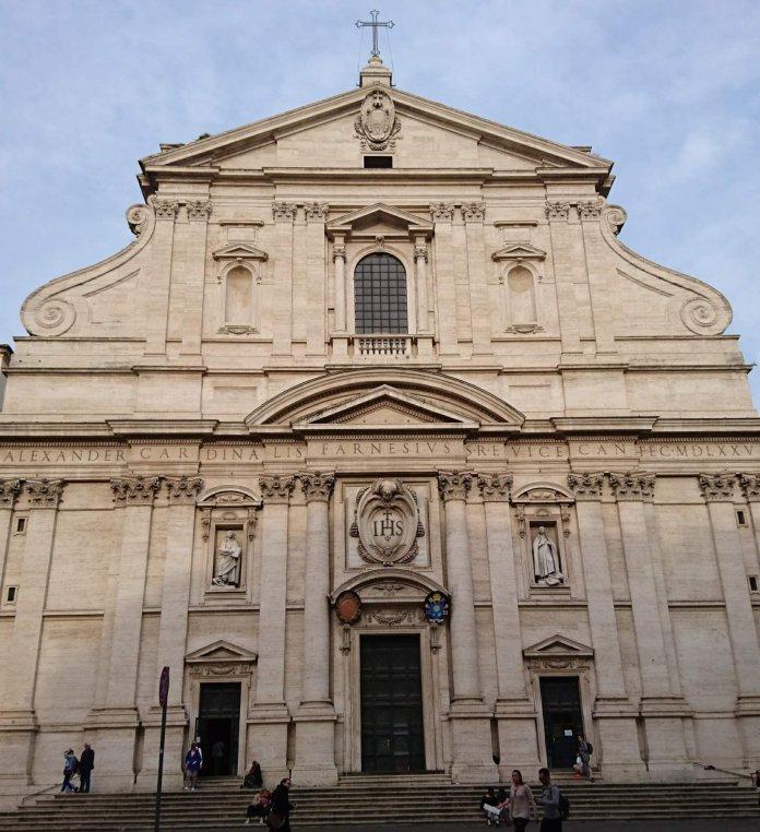Il Gesù - Mutterkirche des Jesuitenordens / bild: Cathwalk