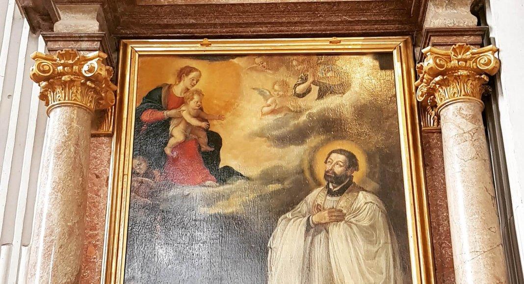 Franz Xaver, Gemälde in St. Michael, München
