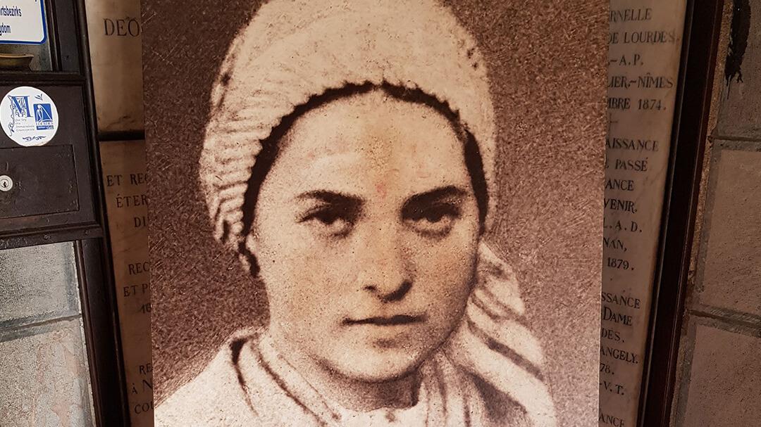Bild: Die junge Bernadette Soubirous (Lourdes) / Cathwalk
