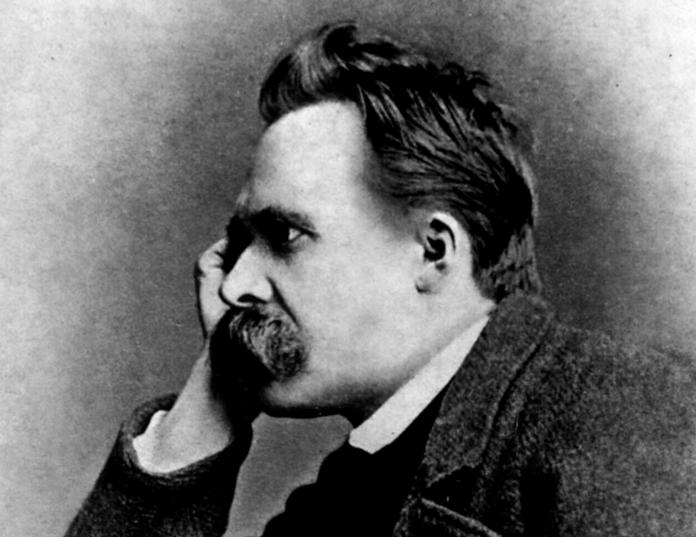 Friedrich Nietzsche – Bild: By Gustav-Adolf Schultze (d. 1897) [Public domain], via Wikimedia Commons