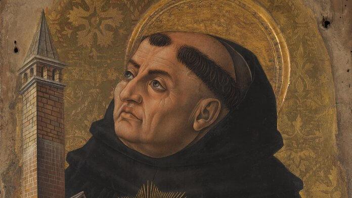 Thomas von Aquin. Bild: Carlo Crivelli [Public domain]