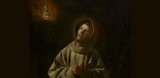 Bild: Francisco de Zurbarán - Sto Antonio de Padua, bearbeitet (public domain)