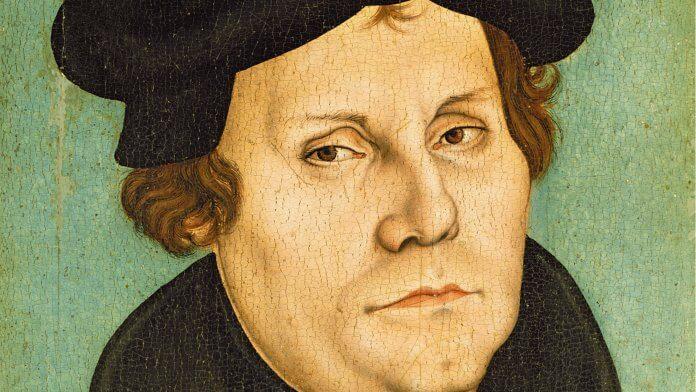 Portrait Martin Luthers (Ausschnitt, 1529) – Workshop of Lucas Cranach the Elder [Public domain]
