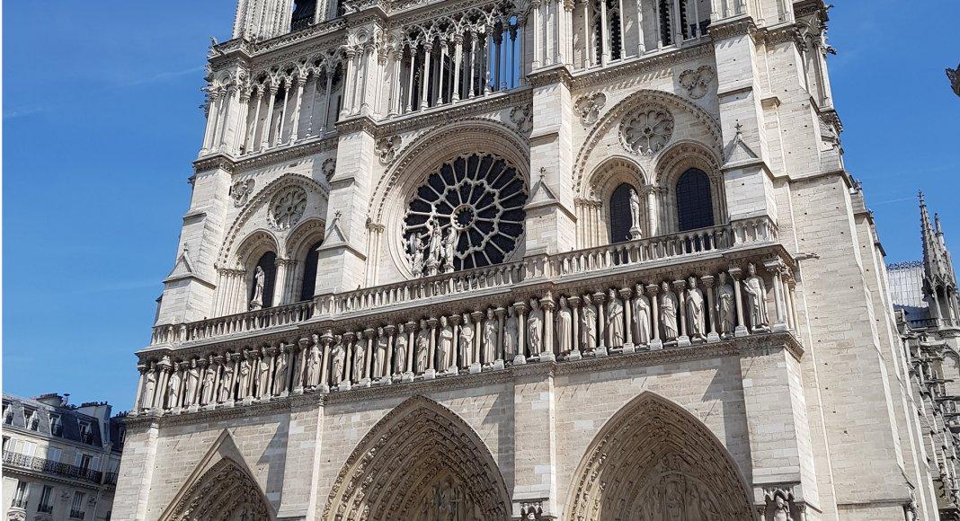 Bild: Notre Dame vor dem Brand (2018)