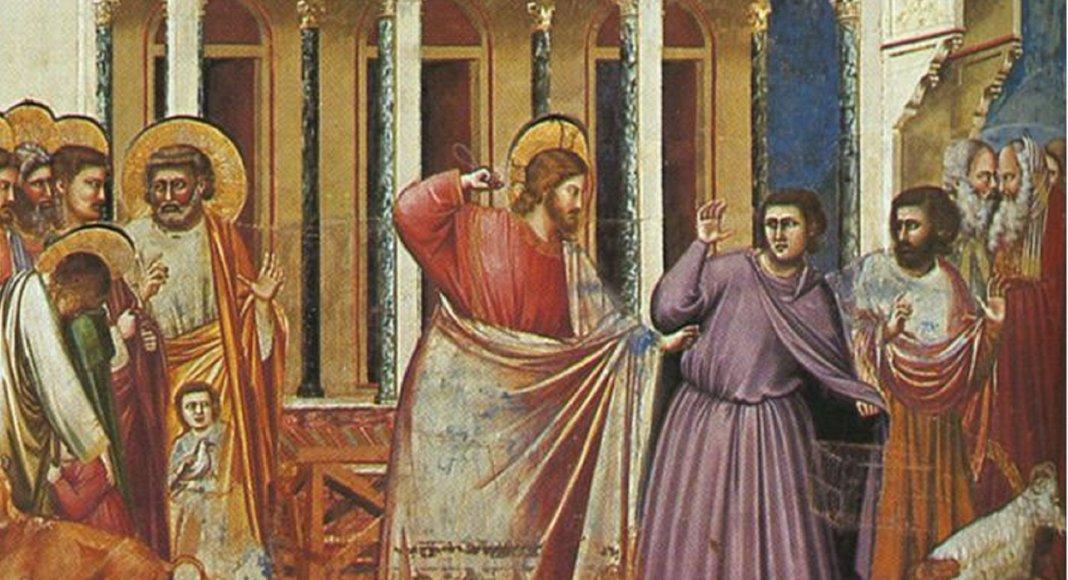 Ausschnitt aus Fresco in Padua von Giotto