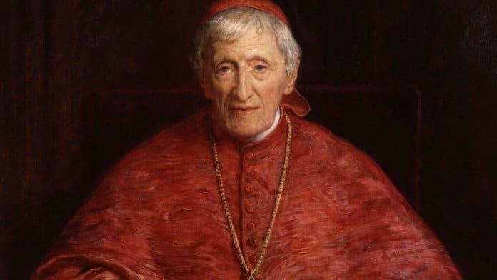 Kardinal John Henry Newmann   Bild: John Everett Millais [Public domain]