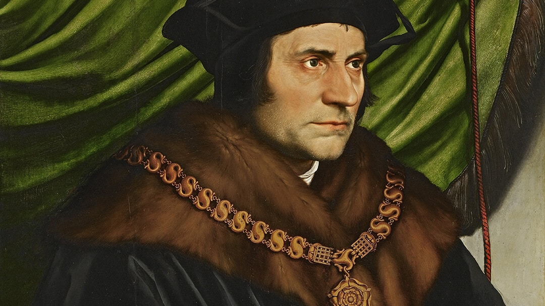 Thomas Morus – Bild: Hans Holbein [Public domain]