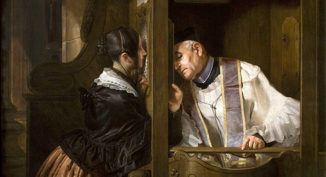 Bild: Molteni Giuseppe, La confessione / Fondazione Cariplo / CC BY-SA (https://creativecommons.org/licenses/by-sa/3.0)