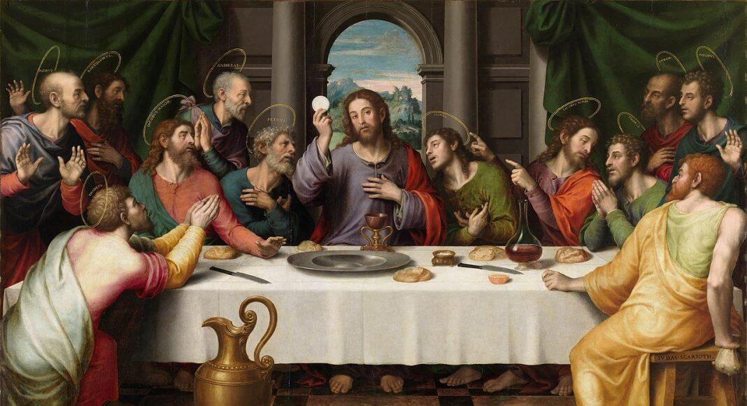 Das letzte Abendmahl | Juan de Juanes - [2], Public Domain, https://commons.wikimedia.org/w/index.php?curid=23065137