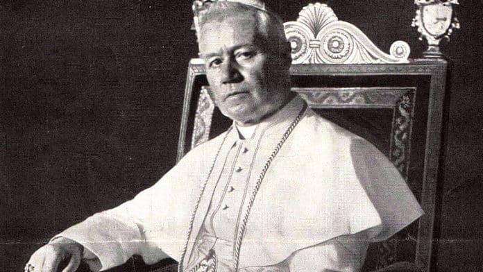 Pius X. Bild aus: