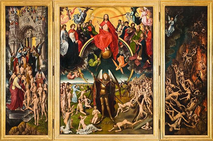 Das Jüngste Gericht (Hans Memling um 1470) (public domina)