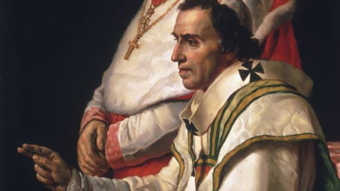 Pius VII.   Bild: Jacques-Louis David / Public domain