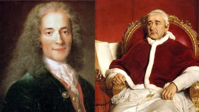 Voltaire und Gregor XVI.