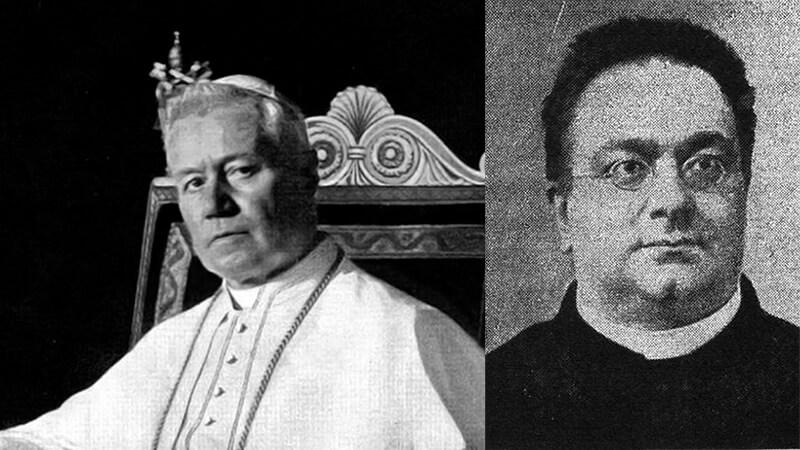 Pius X. und Umberto Benigni