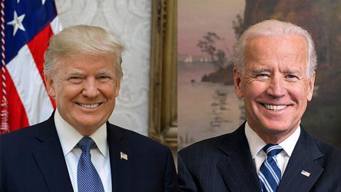 Donald Trump und Joe Biden | public domain