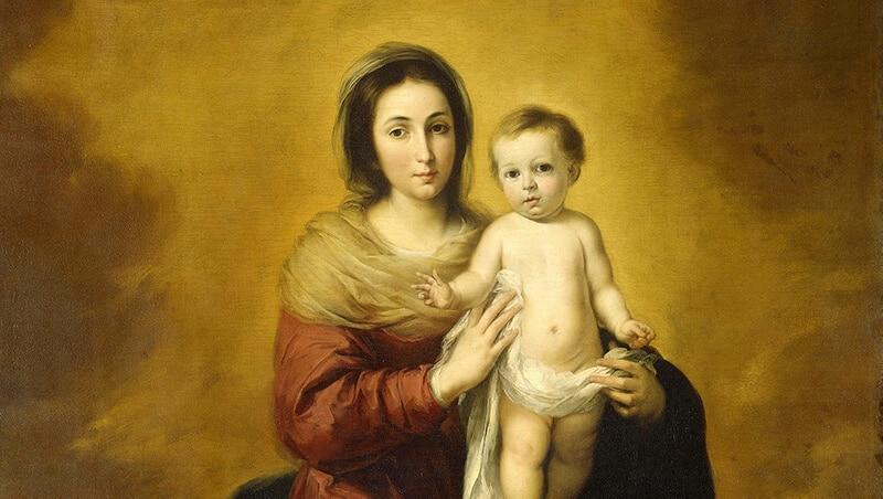 Die Muttergottes trägt den Heiland der Welt | Bartolomé Esteban Murillo, Public domain, via Wikimedia Commons
