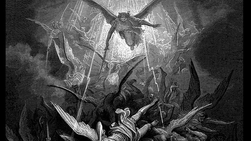 llustration von Gustave Doré für John Miltons