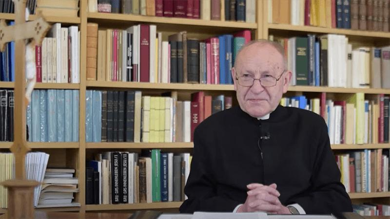 Pater Franz Schmidberger (Screenshot | Youtube)