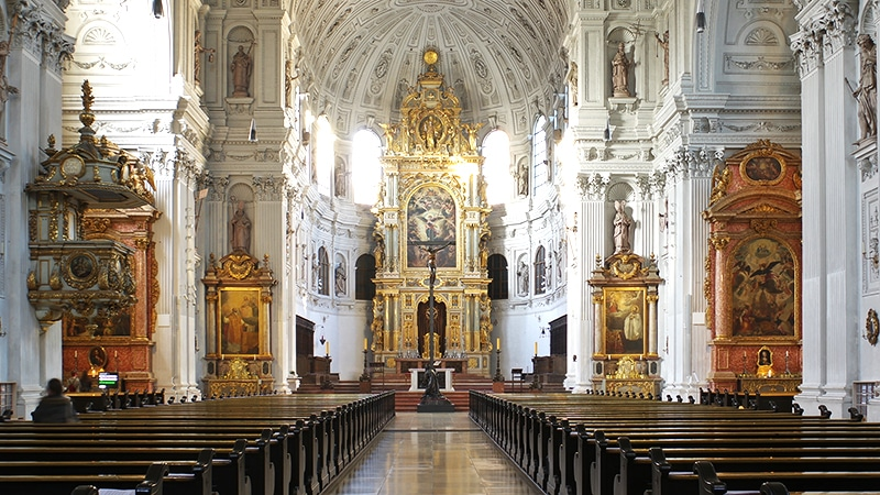 St. Michael, München | Berthold Werner, CC BY-SA 3.0 , via Wikimedia Commons