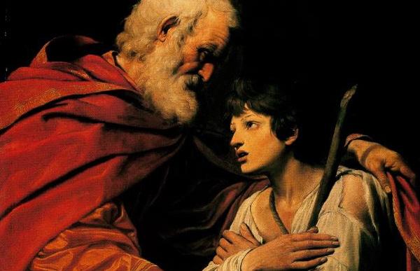 The Return of the Prodigal Son (Leonello Spada,Louvre,Paris) | Public domain, via Wikimedia Commons