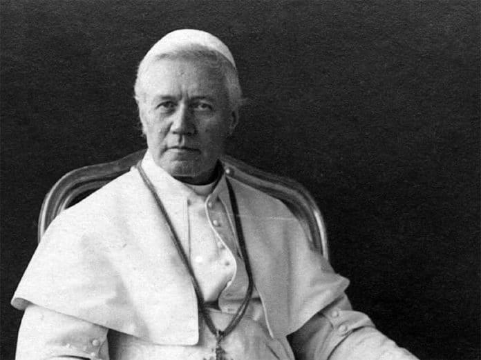Papst Pius X.   Foto: Sirilusmaxii, CC BY-SA 4.0 , via Wikimedia Commons