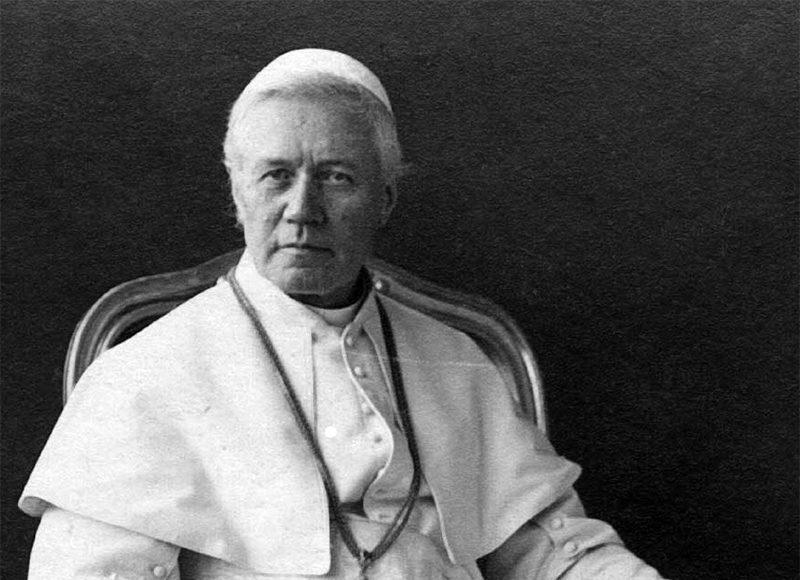 Papst Pius X. | Foto: Sirilusmaxii, CC BY-SA 4.0 , via Wikimedia Commons