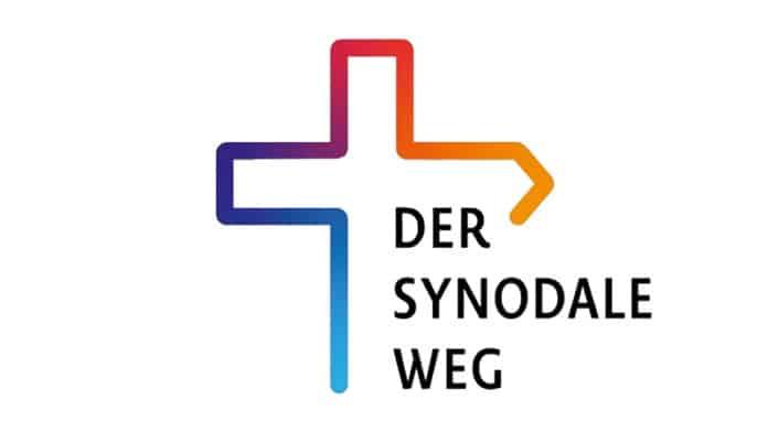 Logo des synodalen Wegs (Christian Pulfrich, CC BY-SA 4.0 , via Wikimedia Commons)