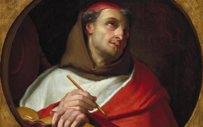 Der heilige Bonaventura | Bild: François, Claude (dit Frère Luc), Public domain, via Wikimedia Commons
