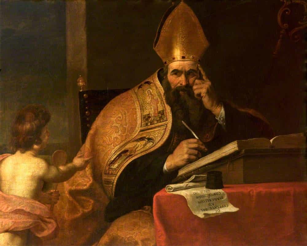 Augustinus hat die Lehre vom gerechten Krieg entscheidend geprägt   Bild:Attributed to Gerard Seghers, Public domain, via Wikimedia Commons