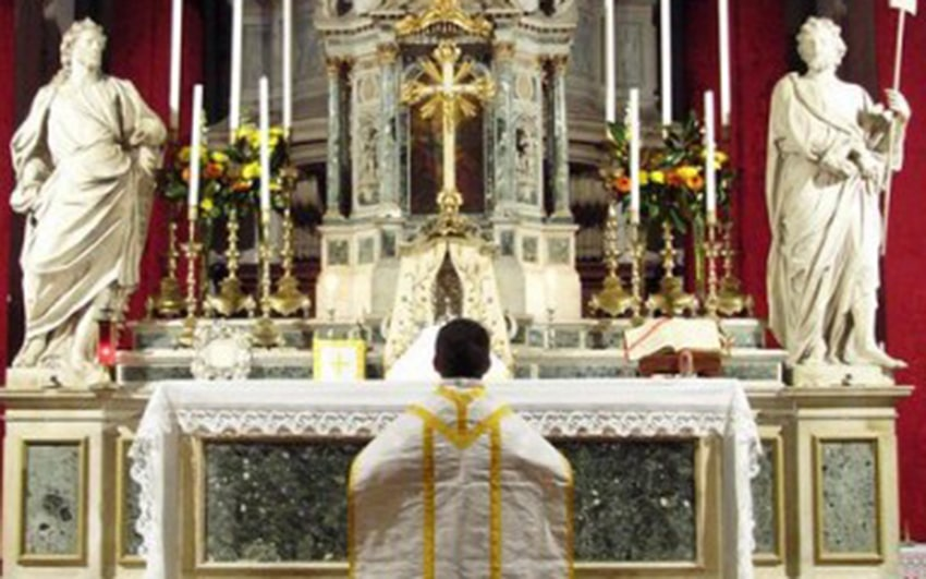 St. Simeon Piccolo, Venedig (FSSP) | Required attribution text: by the Priestly Fraternity of Saint Peter, available from http://fssp.org., Attribution, via Wikimedia Commons